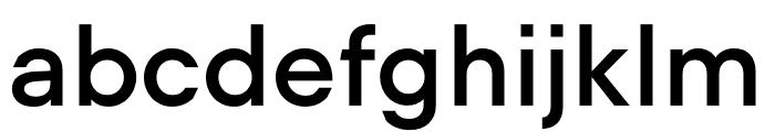 UCity Semibold Font LOWERCASE