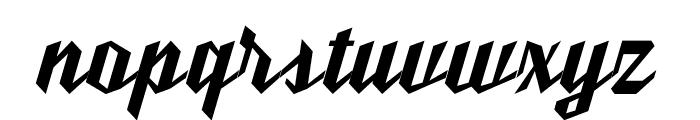 Ut Nickel Font LOWERCASE