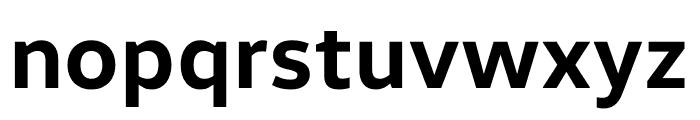 Volkswagen Font LOWERCASE