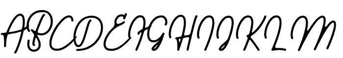 Walkway Font UPPERCASE