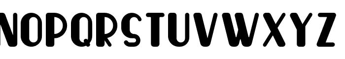 Wingko Font UPPERCASE