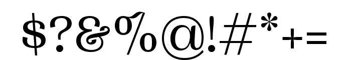 Woodland Regular Font OTHER CHARS