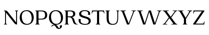 Woodland Regular Font UPPERCASE