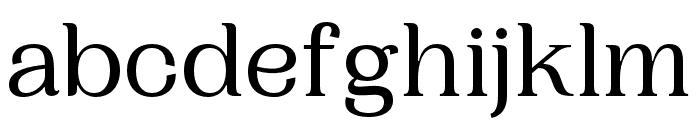Woodland Regular Font LOWERCASE