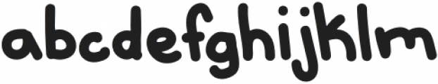 Ouch Regular otf (400) Font LOWERCASE