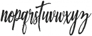 Ourstory Alt otf (400) Font LOWERCASE