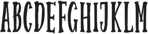 Ourstory Sans otf (400) Font UPPERCASE