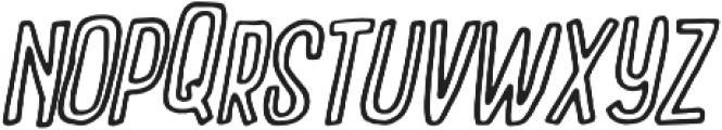 Outcast ttf (900) Font UPPERCASE