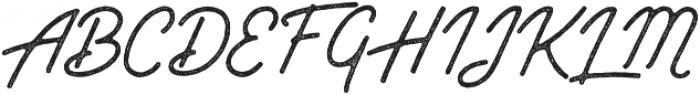 Outdoors Inks otf (400) Font UPPERCASE