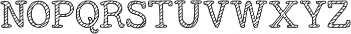 Outer Planet Janet ttf (400) Font UPPERCASE