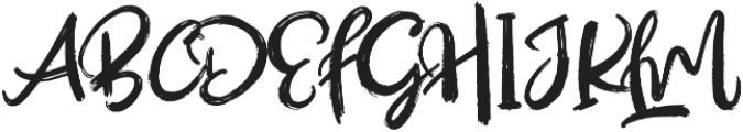 Outistyle otf (400) Font UPPERCASE