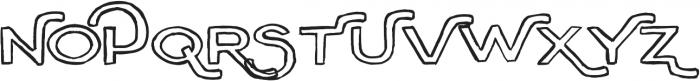 Outline ttf (400) Font UPPERCASE