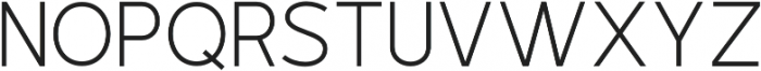 Outside Collection Sans otf (400) Font LOWERCASE