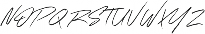 Outsmile Signature otf (400) Font UPPERCASE
