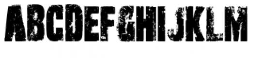 Outcast Pro Font UPPERCASE