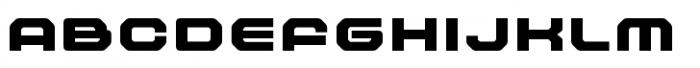 Outlander Nova Black Font UPPERCASE