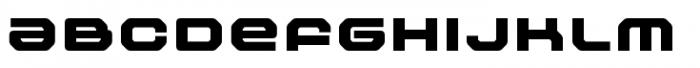Outlander Nova Black Font LOWERCASE