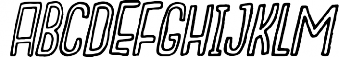Outcast Motofont 2 Font UPPERCASE