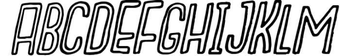 Outcast Motofont 2 Font LOWERCASE