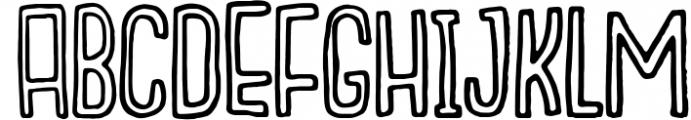 Outcast Motofont 3 Font UPPERCASE