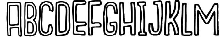 Outcast Motofont 3 Font LOWERCASE