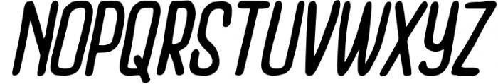 Outcast Motofont Font UPPERCASE