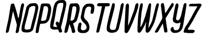 Outcast Motofont Font LOWERCASE
