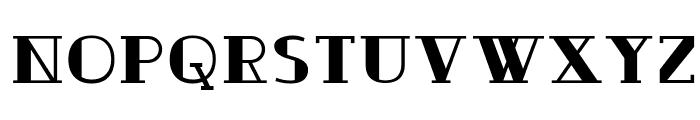 Ouijadork Font UPPERCASE