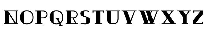 Ouijadork Font LOWERCASE