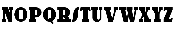 OurGang Font UPPERCASE