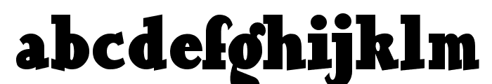 OurGang Font LOWERCASE