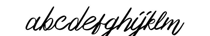 OurlasttDemoRegular Font LOWERCASE