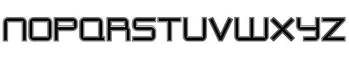 Outer Limits Font UPPERCASE