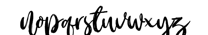 Outistyle Free Personal Use Font LOWERCASE