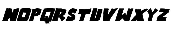 Outlander Bold Italic Font UPPERCASE