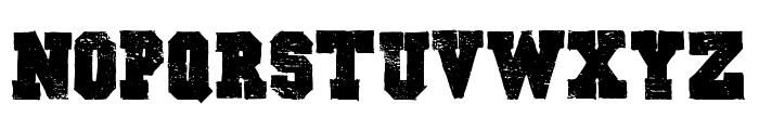 Outlaw Stars Font UPPERCASE