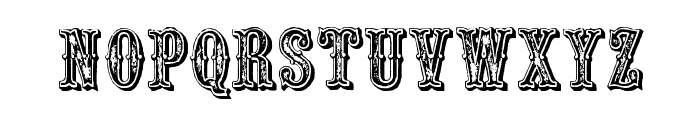 Outlaw Font LOWERCASE