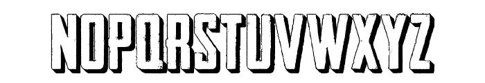 Outliner No. 45 DEMO Font UPPERCASE