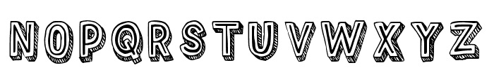 Outlyne Regular Font UPPERCASE