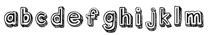 Outlyne Regular Font LOWERCASE