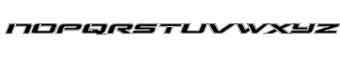 Outrider Academy Italic Italic Font LOWERCASE