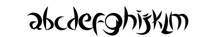 Outsiders Font LOWERCASE
