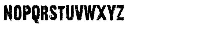 Outcast I Regular Font LOWERCASE