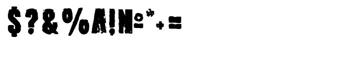 Outcast III Regular Font OTHER CHARS