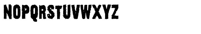 Outcast III Regular Font LOWERCASE