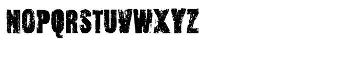 Outcast Regular Font UPPERCASE