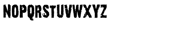 Outcast Regular Font LOWERCASE