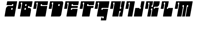 Outright Regular Font UPPERCASE