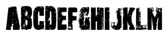 Outcast Pro Regular Font UPPERCASE