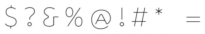 Outliner Regular Font OTHER CHARS